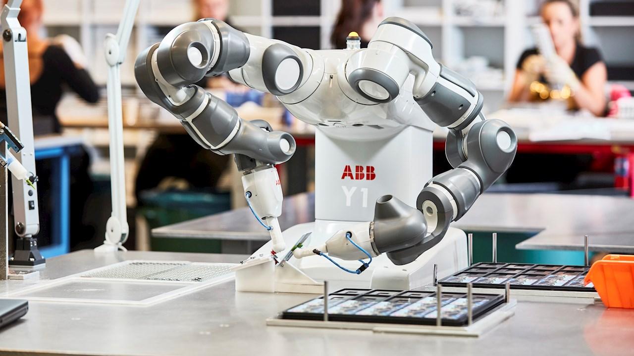 Robô colaborativo da ABB