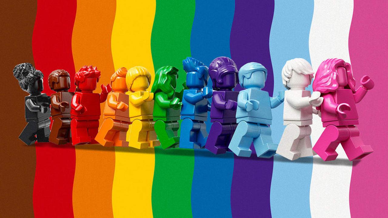 Lego Mês do Orgulho LGBTQ+